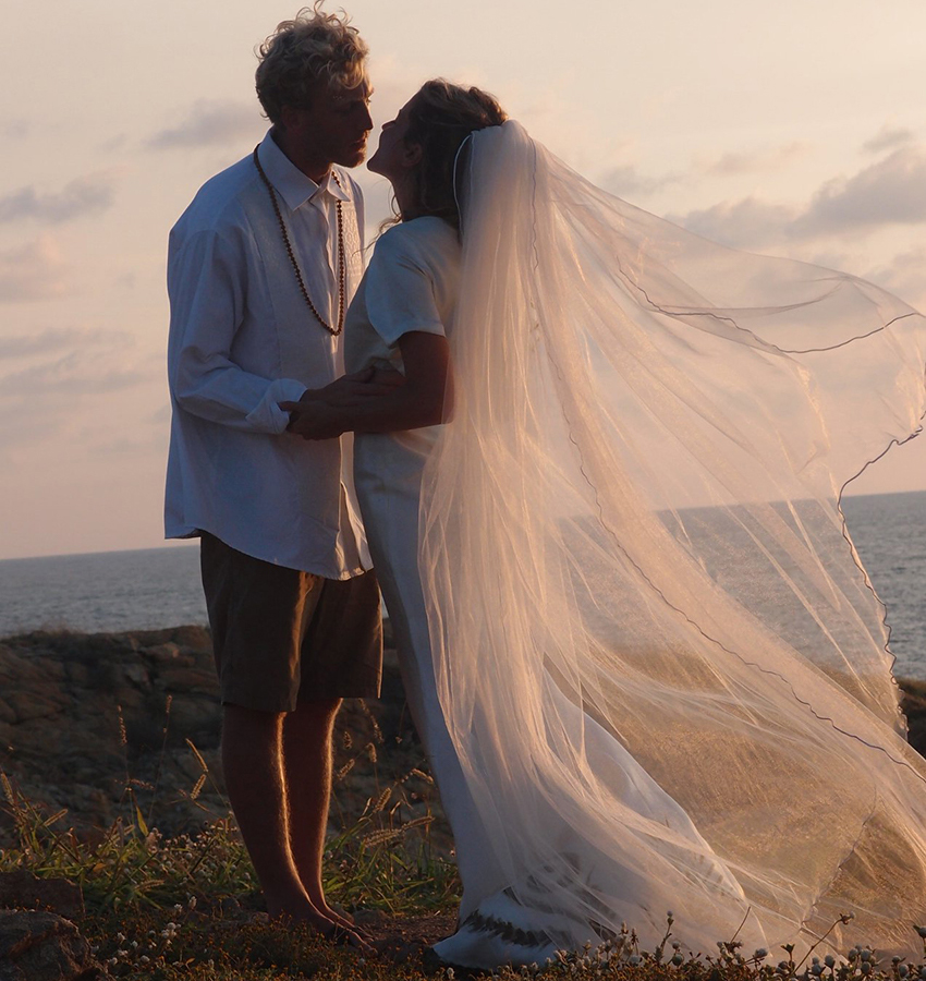 Punta Cometa beach wedding, Oaxaca