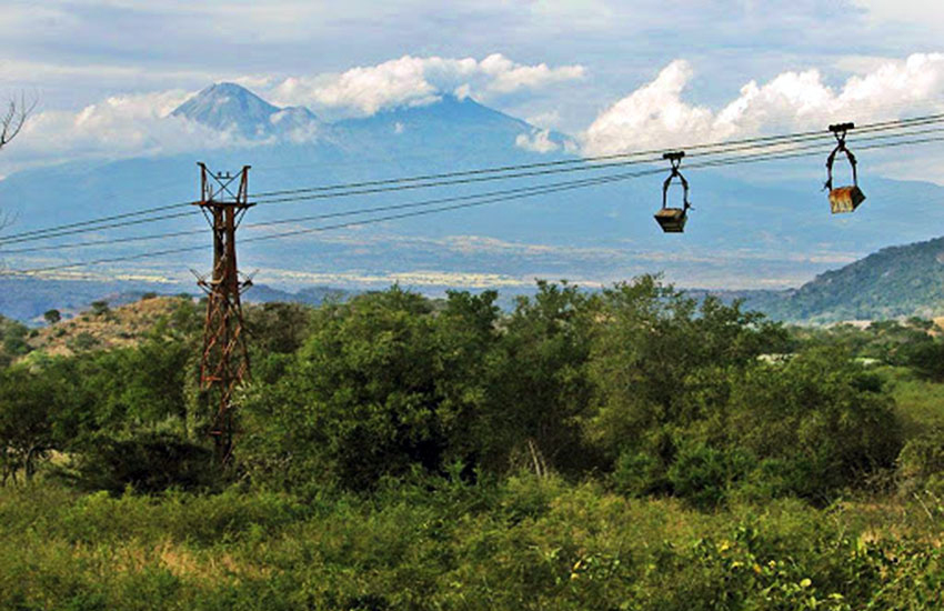 Encino Mine aerial tramway, Jalisco