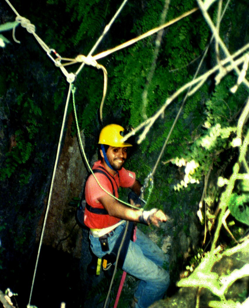 caver in Pihuamo, Jalisco