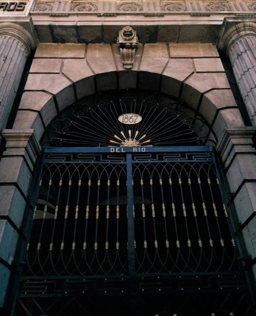 Gate at Palace of Mining