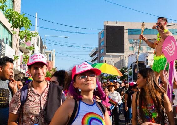 Pride march in Culiacán, Sinaloa, in 2019