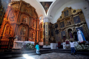 The Tlaxcala cathedral