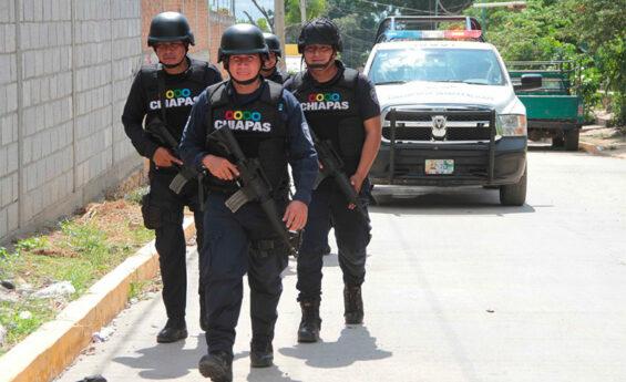 Chiapas police