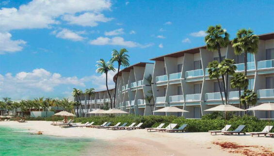 Hilton's Conrad Tulum is to open near the end of the year.