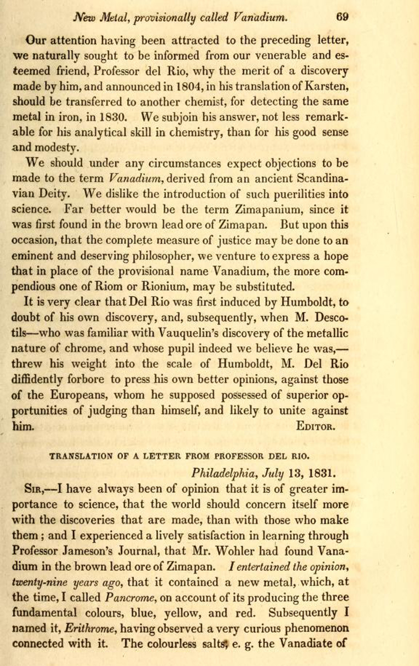 Monthly American Journal of Geology and Natural Science (1831)