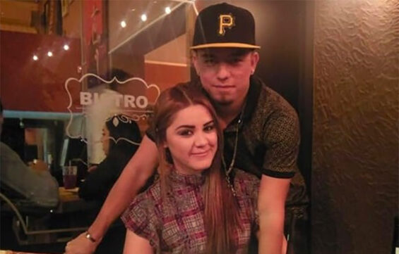 Aranza Ramos and her husband