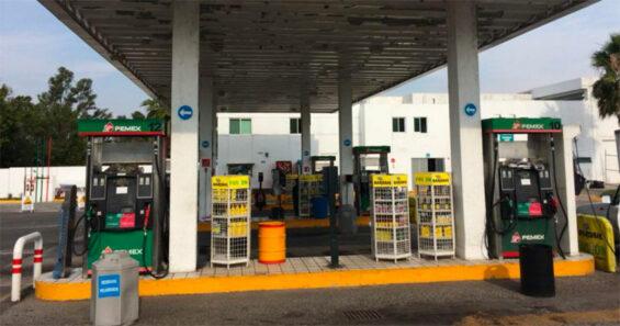 A Pemex station in Guadalajara.