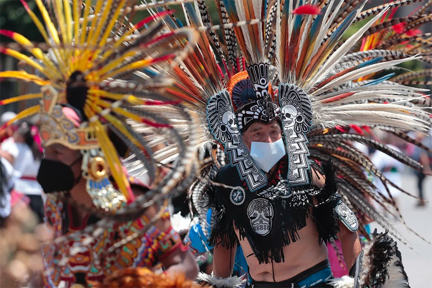 Anniversary of founding of Mexica capital celebrated with music and dance - Mexico News Daily