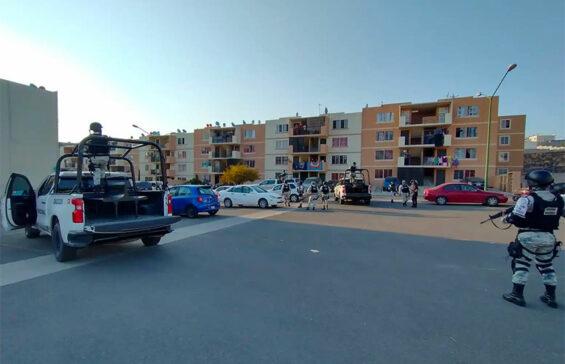 Crime scene last Friday in Tijuana