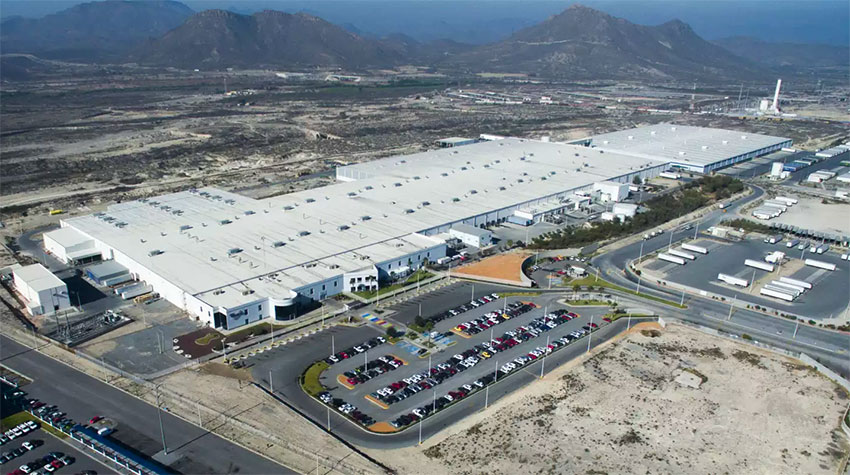The company's factory in Ramos Arizpe