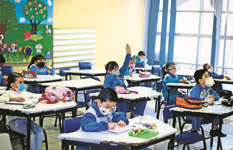 Schools in Mexico City briefly reopened in June, then closed again in the face of Covid outbreaks.