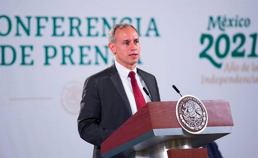 Deputy Health Minister Hugo López-Gatell.