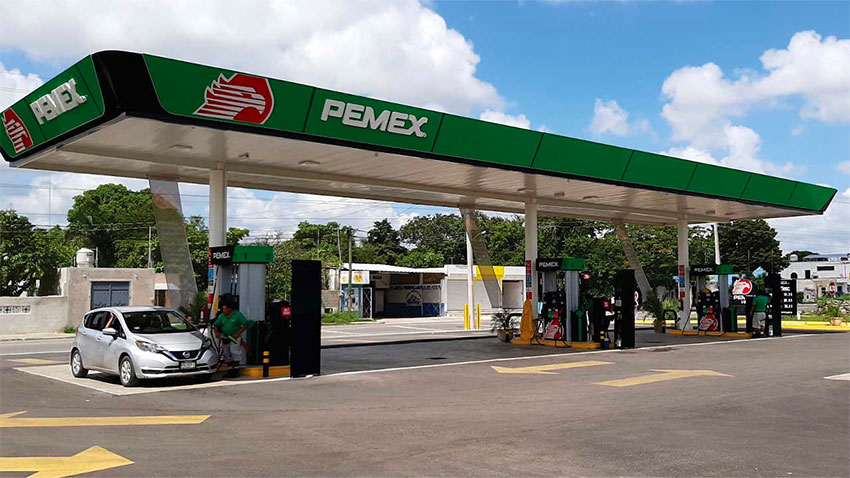 The new gas stations will be operated as Pemex franchises.