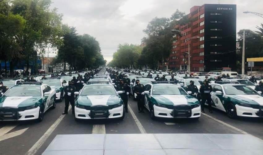 Priority Quadrants Reinforcement Program, Mexico City