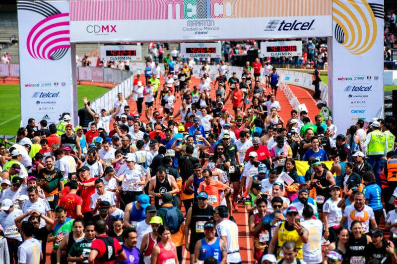 Participants in the 2019 Marathon.