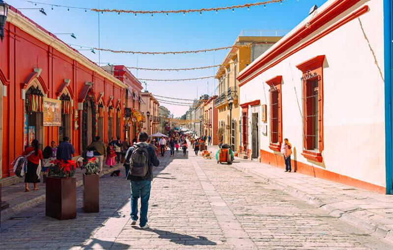 The city of Oaxaca